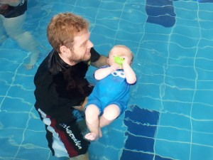 Freddie Swimming Lesson